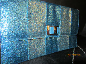 GLITTER EVENING BAG - New!