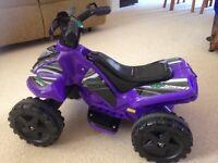 Roadstertz 6v power ATV Quad bike for children