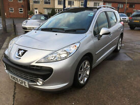 2009 Peugeot 207 SW 1.6HDI Sport 77,000 MILES, FULL HISTORY, HPI CLEAR *£30 TAX*