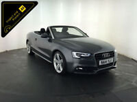 2014 AUDI A5 S LINE SPECIAL ED TDI CONVERTIBLE 1 OWNER SERVICE HISTORY FINANCE