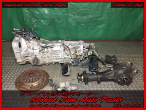 subaru impreza 5 speed transmission TY754VB7AA