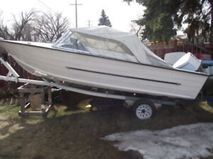 Selling my 1975 Starcraft with 1975 85HP motor+trailer+fish find