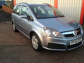 Vauxhall/Opel Zafira 1.6i 16v ( a/c ) 2006 Life GREAT FAMILY CAR