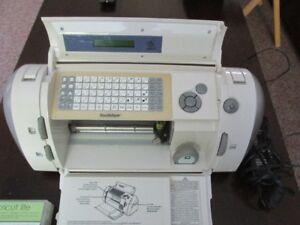 Cricut letter cutting machine