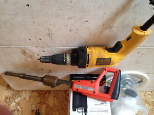 Remington Nailer & DeWalt Drywall Gun