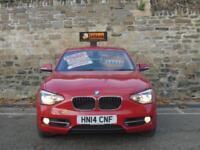 2014 14 BMW 1 SERIES 2.0 120D SPORT 5D AUTO 181 BHP DIESEL