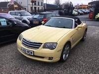 2005 55 Yellow Chrysler Crossfire 3.2 Auto Roadster