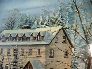 """Hand Signed and Numbered by Peter Robson """"Benmiller Inn"""" 1983 Stratford Kitchener Area image 8"""