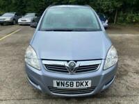 2008 Vauxhall Zafira 1.6 i 16v Life 5dr MPV Petrol Manual