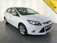2014 FORD FOCUS ZETEC NAV ECONETIC DIESEL 1 OWNER SERVICE HISTORY FINANCE PX