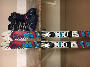 K2 Juvy Twin tip skis (134cms)