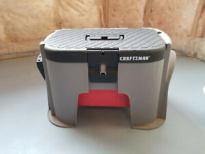 Craftsman Plastic Step Stool With Tool Box