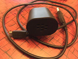OEM BlackBerry Micro USB Wall Travel Home Charger