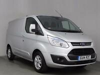 2014 FORD TRANSIT CUSTOM 2.2 TDCi 125ps Low Roof Limited 270 L1 FWD