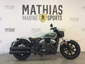 2018 Indian SCOUT BOBBER / 42$/sem