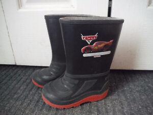 Cars Rain Boots size 7