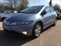 2008 Honda Civic 2.2i-CTDi ES Full Service History Long Mot 2 Owners