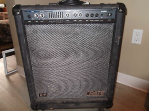 BASS AMP - CRATE BFX100 (Used) REDUCED FINAL PRICE
