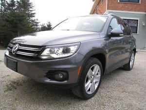 2013 Volkswagen Tiguan Comfortline *Leather*Pano*Navi*$76 Wkly