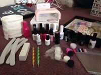 Complete home gel Nail kit