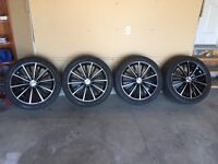 255 45 R20 - Set of 4 rims and tires - Good condition - 20 Inch