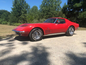 1972 Corvette Stingray Survivor Car.