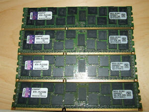 Kingston KTH - PL3138G Server RAM - USED - $160.00 FOR ALL !!!