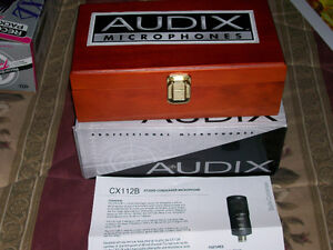 Audix CX 112B Large Condenser Microphone with Cardioid Pattern West Island Greater Montréal image 4