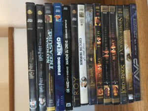 Movie videos - see picture for selection. $3 each