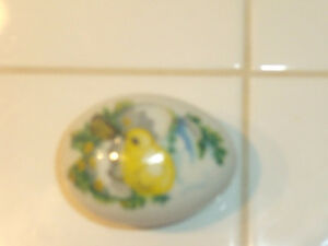 Franklin Mint Porcelain Egg China w/Box Chick Duck Trinket Dish West Island Greater Montréal image 4