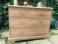 Strong farmhouse chest of drawers