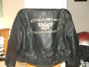 Leather Honda Gold Wing Jacket Ladies Large