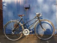Raleigh ladies Vintage bike brooks saddle