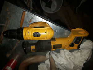 Dewalt 18 v Drill & Reciprocating saw