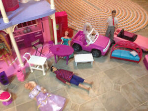 Barbie doll house plus Strathcona County Edmonton Area image 6