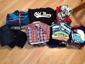 Lot of boys clothes size 6-7