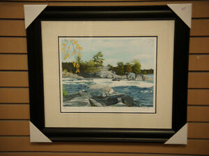 """Burleigh Falls"" by John Harrington Peterborough Peterborough Area image 1"