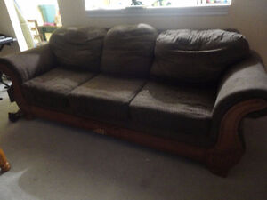free comfy brown couch
