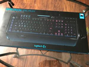Logitech G910 Orion Spectrum RGB gaming keyboard