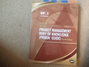 PMBOK BOOK 4 th Edition used