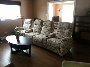 4 Seater Recliner Home Theater Couch