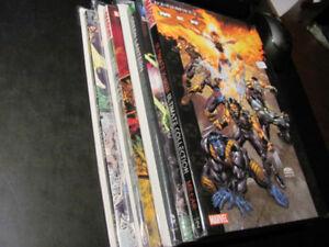 3 Comic Book Graphic Novels