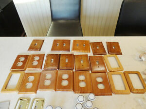 250 pcs.Of Cupboard, Dresser Knobs, Handles& Wood Plate Covers Kitchener / Waterloo Kitchener Area image 6