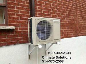 THERMOPOMPE MURALE / CLIMATISEUR MURAL / GOODMAN / THERMOPUMP/ AIR CONDITIONER -20C