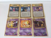 Japanese Pokemon cards