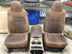 King Ranch seats/ console