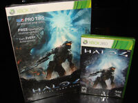 XBOX 360-HALO 4+GUIDE+14 DAYS LIVE CODE (NEUF/NEW SEALED)
