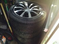 Tourien rims and Tires for Sale