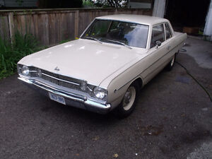 Rare 1968 Dodge Dart 2 Dr Sedan