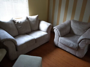 Comfy Oversized Sofa Set